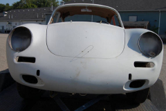 Porsche 356B Coupe Primer 1962 Front View