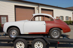 Porsche 356B Coupe Primer 1962 Driver Side View
