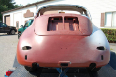Porsche 356B Coupe Primer 1962 Rear View