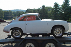 Porsche 356B Coupe Primer 1962 Passenger Side View