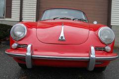 Porsche 356 SC Red 1964 Front View