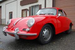 Porsche 356 SC Red 1964