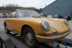 Porsche 911 Coupe Yellow 1965