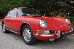 Porsche 912 Coupe Red 1965
