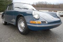 Porsche 911 Coupe Blue 1966