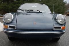 Porsche 911 Coupe Blue 1966 Front View