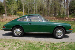 Porsche 912 Coupe Green 1966 Passenger Side View