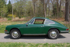 Porsche 912 Coupe Green 1966 Driver Side View