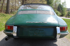 Porsche 912 Coupe Green 1966 Rear View