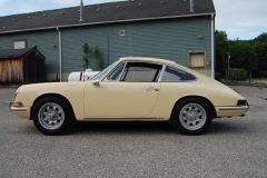 Porsche 912 Coupe Champange Yellow 1967 Drivers Side View
