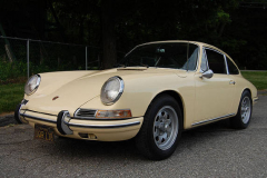 Porsche 912 Coupe Champange Yellow 1967