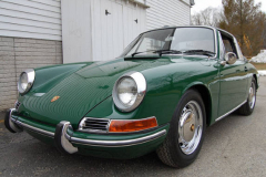 Porsche 911 L Soft Window Targa Green 1968