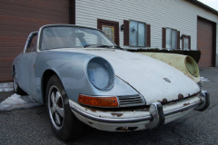 Porsche 911 S Soft Window Targa White 1968