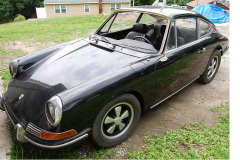 Porsche 912 Coupe Black 1968