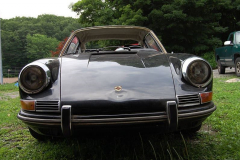Porsche 912 Coupe Black 1968 Front View
