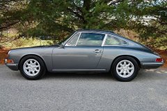 Porsche 912 Coupe Grey 1968 Driver Side View
