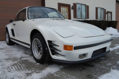 Porsche 911 Coupe Slant Nose V-8 White 1969