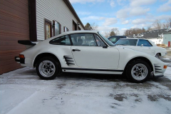 Porsche 911 Coupe Slant Nose V-8 White 1969 Passenger Side View