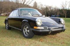 Porsche 911 E Black 1970