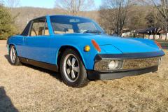 Porsche 914 6 Blue 1970