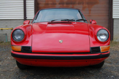 Porsche 911 T Targa Red 1971 Front View