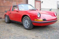 Porsche 911 T Targa Red 1971