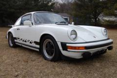 Porsche 911 Carrera White 1975