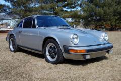 Porsche 911 Coupe Silver 1977