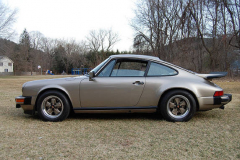 Porsche 911SC Weissach Coupe Platinum 1980 Driver Side View