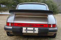 Porsche 911SC Weissach Coupe Platinum 1980 Rear View