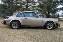 Porsche 911SC Weissach Coupe Platinum 1980 Passenger Side View