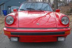 Porsche 911 SC Coupe Red 1982 Front View