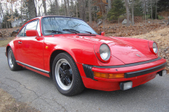 Porsche 911 SC Coupe Red 1982