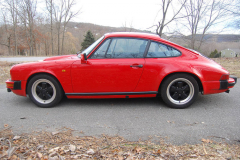 Porsche 911 SC Coupe Red 1982 Driver Side View