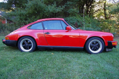 Porsche 911 SC Coupe Red 1982 Passenger Side View