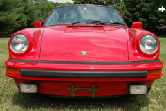 Porsche 911 SC Coupe Red 1983 Front View