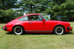 Porsche 911 SC Coupe Red 1983 Passenger Side View