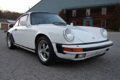 Porsche 911 SC Coupe White 1983