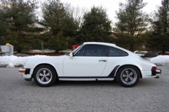 Porsche 911 SC Coupe White 1983 Driver Side View