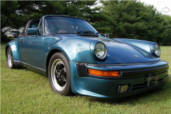 Porsche 911 SC Targa Turbo Blue 1983