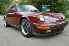 Porsche 911 Carrera Burgundy 1984