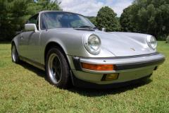 Porsche 911 Carrera Silver 1985