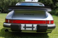 Porsche 911 Carrera Silver 1985 Rear View