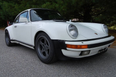 Porsche 911 Turbo White 1986