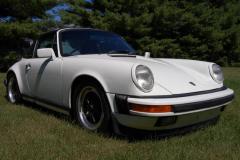 Porsche 911 Carrera Targa White 1987