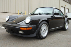 Porsche 911 Coupe Black 1987
