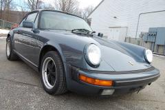 Porsche 911 Coupe Venetian Blue 1987