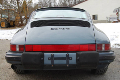 Porsche 911 Coupe Venetian Blue 1987 Rear View