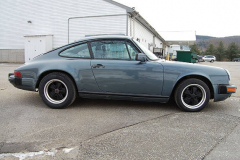 Porsche 911 Coupe Venetian Blue 1987 Passenger Side View