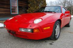Porsche 928 S4 Red 1987